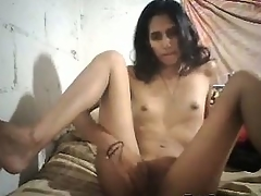 Skinny Indian Jerking