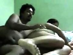Big Indian And Her Husband Nailing