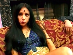 Winsome Indian honey Kajal stripping seductively for you