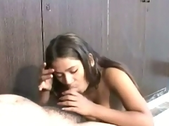 Scorching desi student providing a good time in india