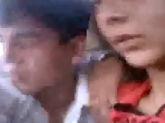Beautiful Bangladeshi angel gal having sex with beau