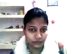 Flashing my Indian tits on a webcam