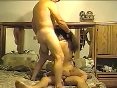 Indian wife taking on 2 dicks