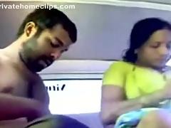 Marathi Bhabhi Moaning & Blasts in Car