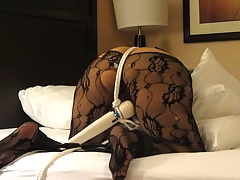 Indian slave flogged while made to suffer unending orgasms