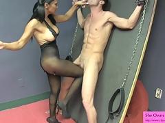 Sex Therapist Jasmine Bashful 4 Preview BIG TITS HANDJOB NYLONS