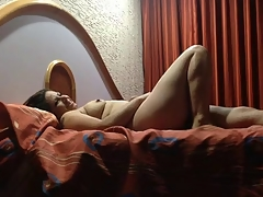 hot boobs wife nice sucking and fucking in bed