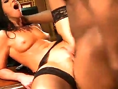 Tiny Indian Babe Takes A Fat Black Dick In The Ass