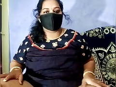Desi Horny Kerala BBW wife does cam show with husband