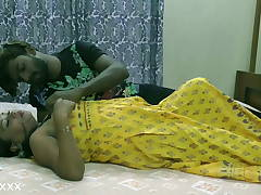 Indian sexy woman dating a black dude for the first time