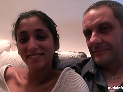 Youthful french indian analized and jizzed for her sextape