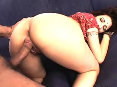Indian honey with a fat butt gets fucked raw for the cameras