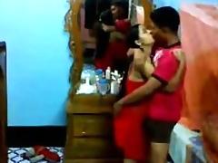 Freshly Married Bangla Pair Fucking
